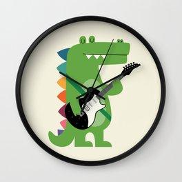 Croco Rock Wall Clock