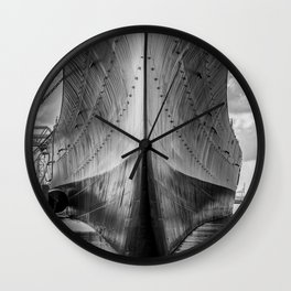 Battleship Wall Clock