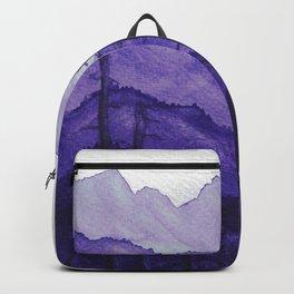 Tonal Mountain Study 2 Purple Backpack