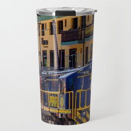 Peru Rail Train - Aguas Calientes Travel Mug