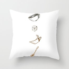 CoffeTime Throw Pillow