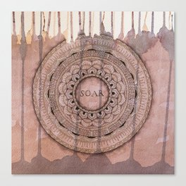 Soar Mandala Canvas Print