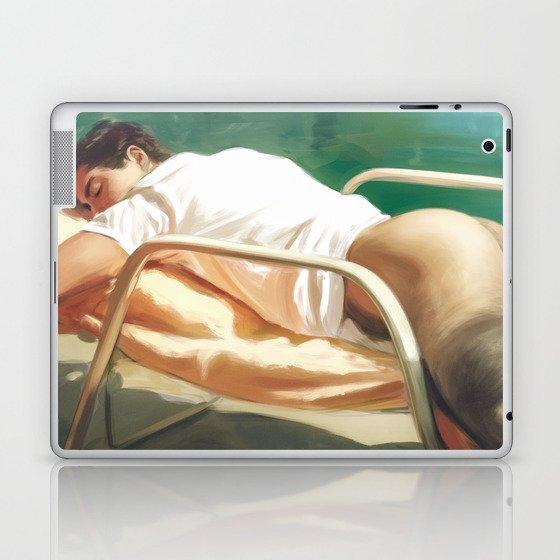 Sunbathing Laptop & iPad Skin