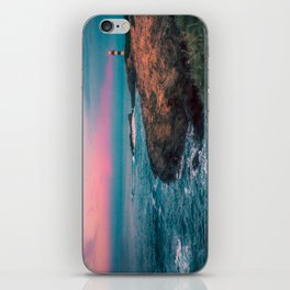 Lighthouse of the Isla Pancha iPhone Skin