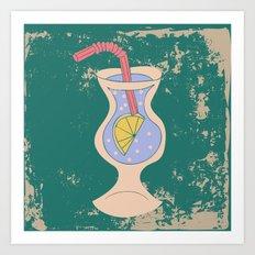 Alcohol_05 Art Print