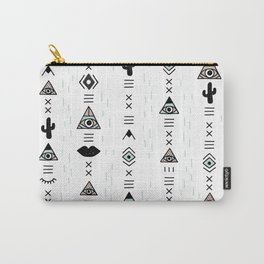 Native desert life print Carry-All Pouch