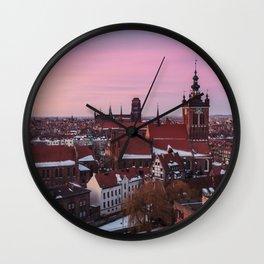 GDANSK 02 Wall Clock