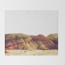 Oregon Painted Hills Throw Blanket