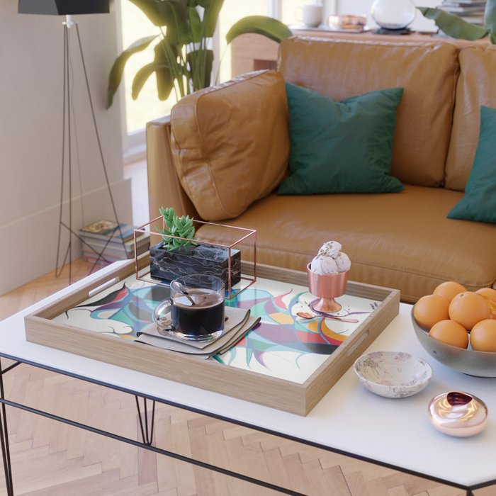 Stay in Balance Serving Tray