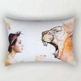 Lion strength Rectangular Pillow