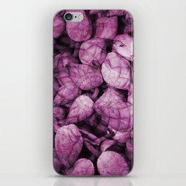 Pattern purple Lotos Flowes iPhone Skin