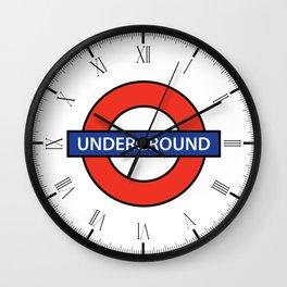 London Underground Wall Clock