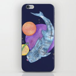 Space Blub iPhone Skin