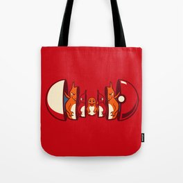 Poketryoshka - Fire Type Tote Bag