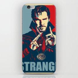 Obey Strange doctor iPhone Skin