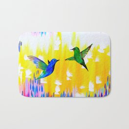 Hummingbird Sunrise Bath Mat
