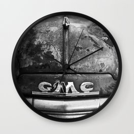 Old GMC Wall Clock