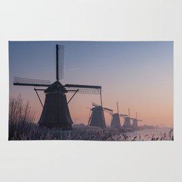 Sunrise at Kinderdijk II Rug