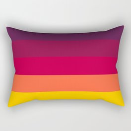 California Sunset - Favourite Palettes Series Rectangular Pillow
