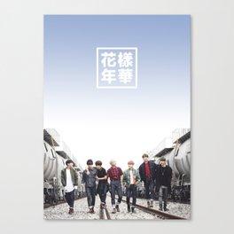 BTS + I need u Canvas Print