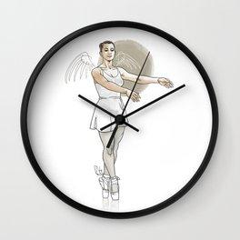 Winged Dancer Wall Clock