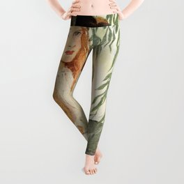 Seven Ages of Childhood by Jessie WIlcox Smith Leggings
