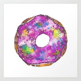 Psychedelic Phrosted Doughnut Baker's Dozen #1 Art Print