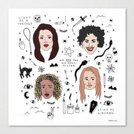 the craft Canvas Print