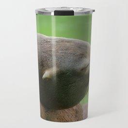 Sleepy Sea Lion Travel Mug