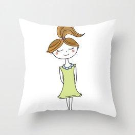 Bambina Throw Pillow