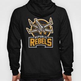 Republic Rebels - Black Hoody