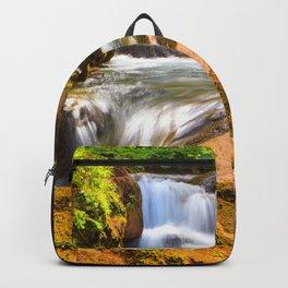 Swiss rapids. Backpack
