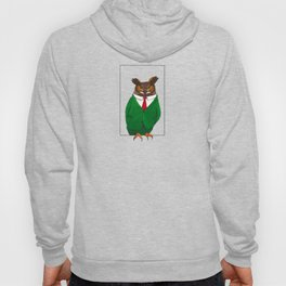 Owl in suit Hoody