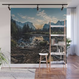 May Your Adventures Be Wild Wall Mural
