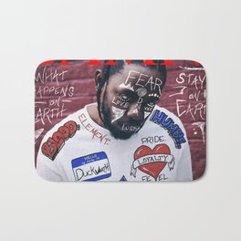 Kendrick Lamar - DAMN. Alternate Album Artwork Cover Bath Mat