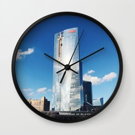 fmc tower, philly Wall Clock