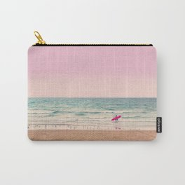 Surfer heads out Carry-All Pouch