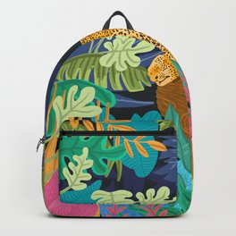 Sleeping Panther Backpack