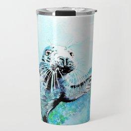 Baby Seal Travel Mug