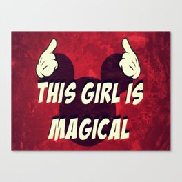 This Girl Is Magical Canvas Print