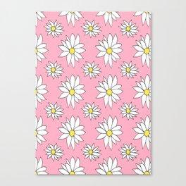 Fresh As A Daisy (Bubblegum) Canvas Print