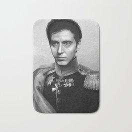 Al Pacino Scar Face General Portrait Painting | Fan Art Bath Mat