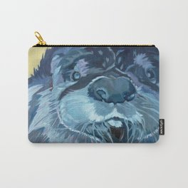 Mustache the Otter Carry-All Pouch