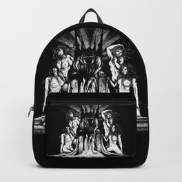 Evil King on Throne Backpack