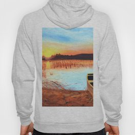 Sunset over the Marshes Hoody
