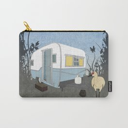 Travel Trailer Sandhill Crane Carry-All Pouch