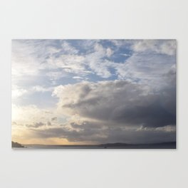 Sound Sunset Canvas Print