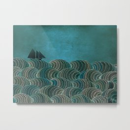 The Open Sea Metal Print
