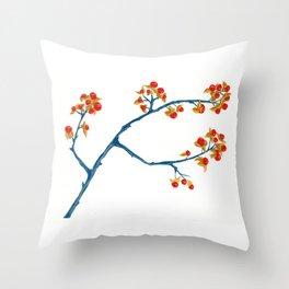 Bittersweet Berries Throw Pillow