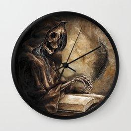 Skeleton Scribe Wall Clock